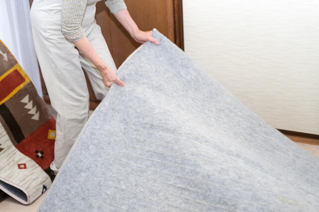ホットカーペットの掃除方法をチェック!